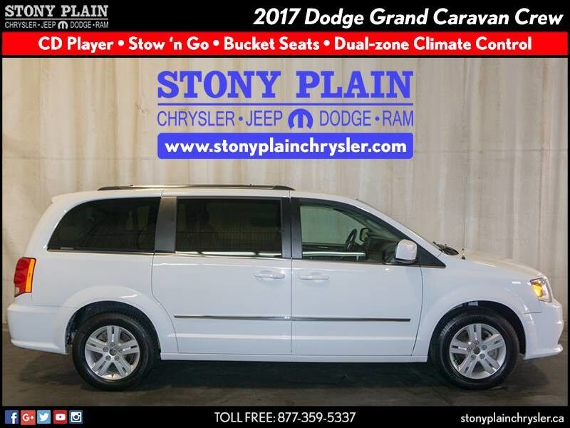 2017 Dodge Grand Caravan Crew Stony Plain AB