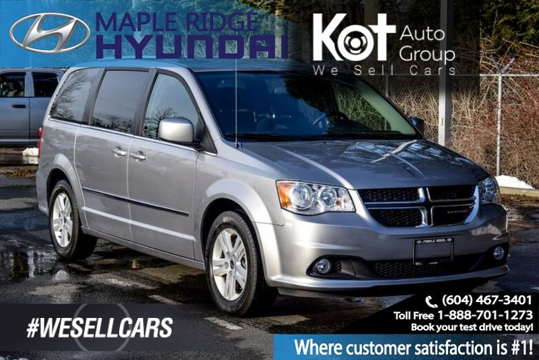 2017 Dodge Grand Caravan Heated Seats, Third Row Seating Maple Ridge BC