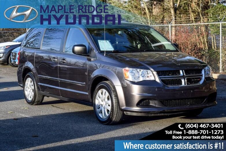 2017 Dodge Grand Caravan Remote Keyless Entry, Dual Sliding Doors, Local Vehicle Maple Ridge BC