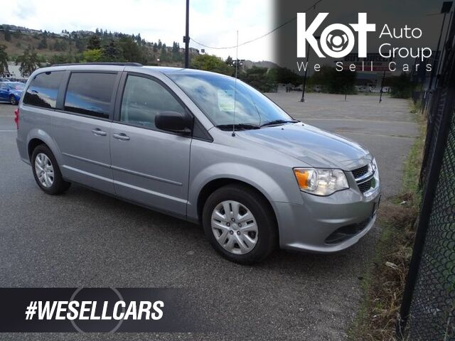 2017 Dodge Grand Caravan SXT, No Accidents, One Owner, Rear Climate Control, Stow N' GO Kelowna BC