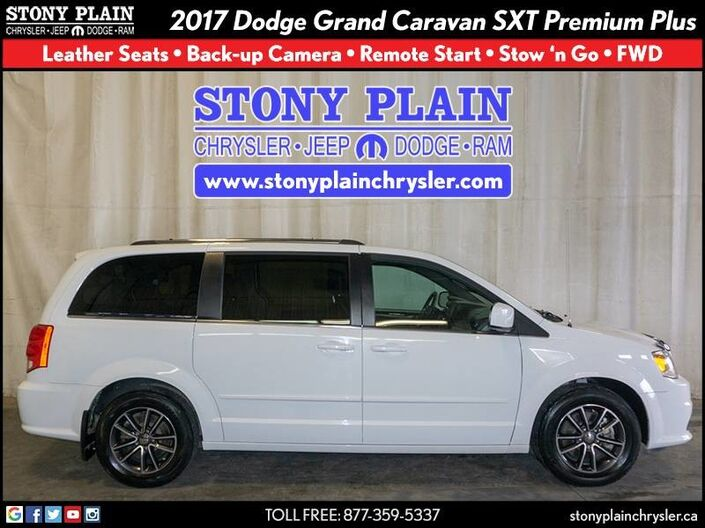 2017 Dodge Grand Caravan SXT Premium Plus Stony Plain AB