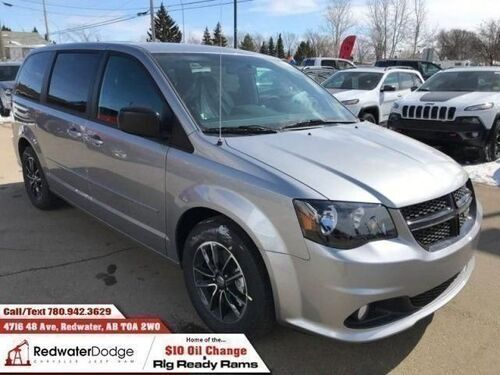 2017_Dodge_Grand Caravan_SXT Stow N Go DVD Rear A/C Price Drop!_ Redwater AB