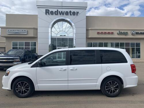 2017_Dodge_Grand Caravan_SXT Stow N Go DVD Rear A/C_ Redwater AB