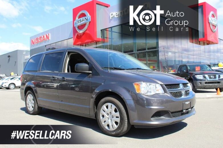 2017 Dodge Grand Caravan SXT, Stow-N-Go Seats, Low Km's, Great Family Vehicle Kelowna BC