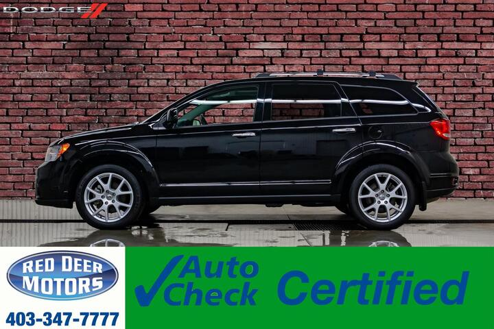 2017 Dodge Journey AWD GT Leather Roof Nav 3rd Row Red Deer AB