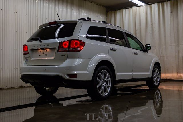 2017 Dodge Journey AWD GT Leather Roof Nav DVD 3rd Row Red Deer AB