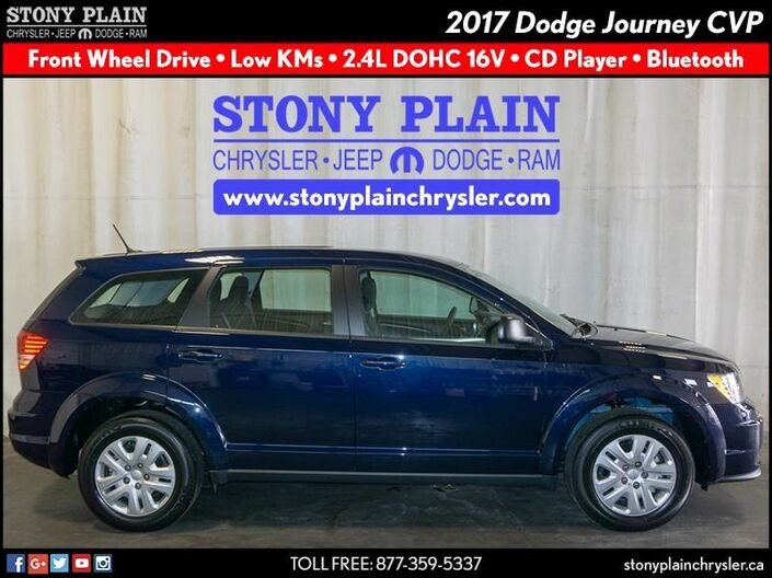 2017 Dodge Journey Canada Value Pkg Stony Plain AB