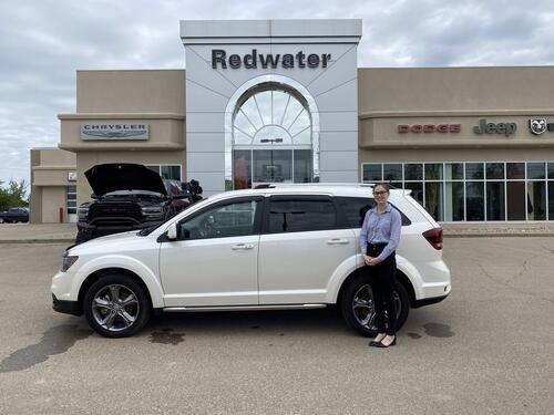 2017_Dodge_Journey_Crossroad - AWD - 3.6L V6 - Heated Leather Seats - Sunroof - Navigation - One Owner - Low Low Kms_ Redwater AB