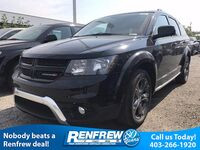 Dodge Journey Crossroad AWD, 19 Black Alloy Wheels, 3rd Row Seating, DVD Screen, Leather Seats 2017
