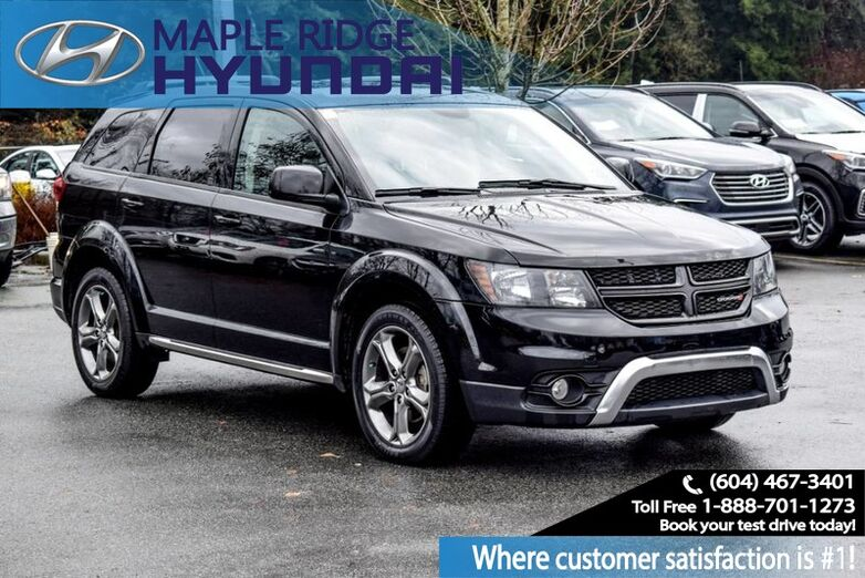 2017 Dodge Journey Crossroad, Leather, Bluetooth, Third Row Seating, AWD Maple Ridge BC