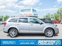 Dodge Journey GT AWD, LOW KMS! Sunroof, Heated Leather, Backup Camera 2017