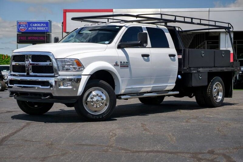 2017 Dodge RAM 5500 **UTILITY FLATBED*Cummins*AISIN** w/ Rearview Camera Mooresville NC