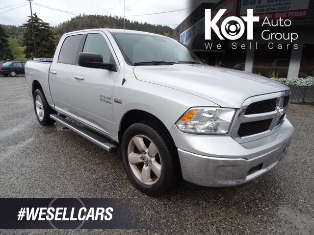 2017 Dodge Ram 1500 SLT, No Accidents! One Owner, Low KM's, V8 4x4 Kelowna BC