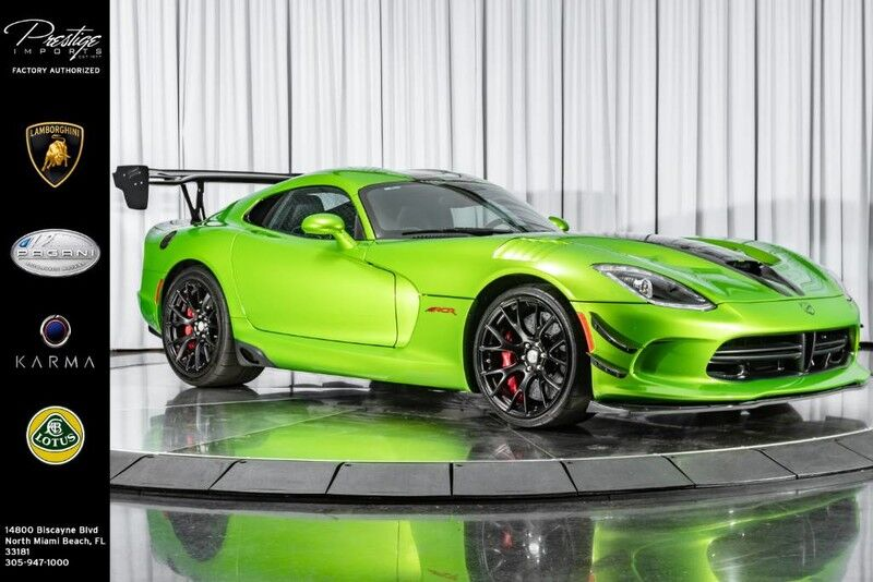 2017 Dodge Viper ACR 25th Anniversary North Miami Beach FL