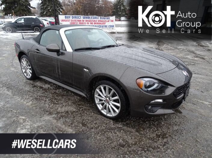 2017 FIAT 124 Spider Lusso Convertible No Accidents! One Owner Kelowna BC