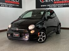 2017_FIAT_500e_ELECTRIC HATCHBACK NAVIGATION REAR PARKING AID HEATED LEATHER SEATS_ Carrollton TX