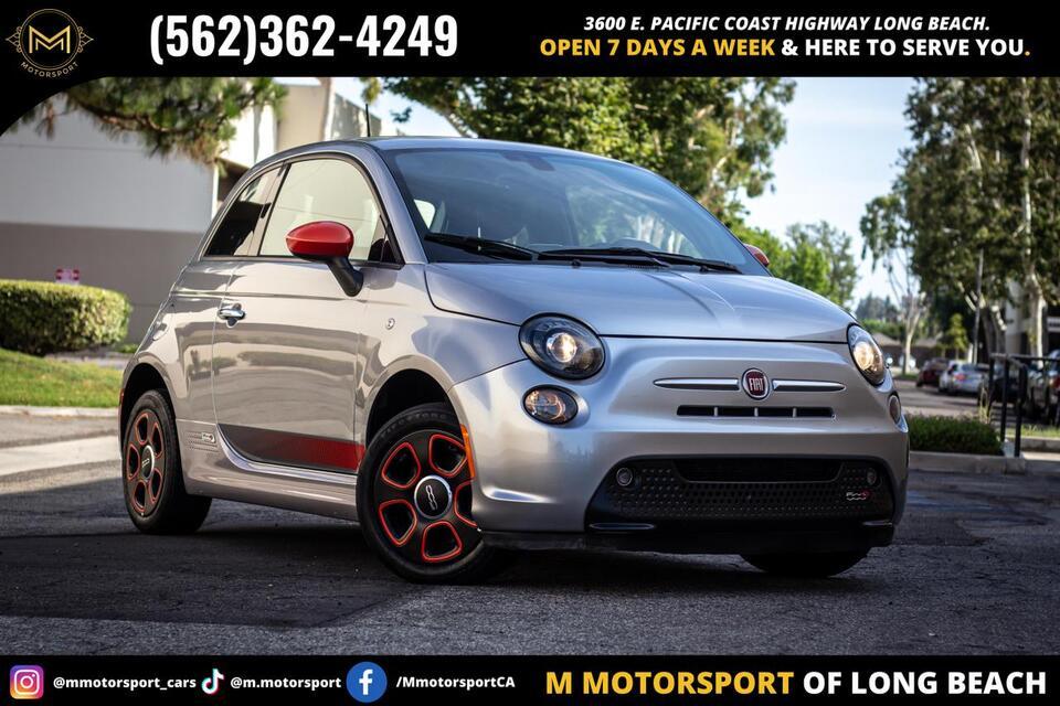2017_FIAT_500e_Hatchback 2D_ Long Beach CA