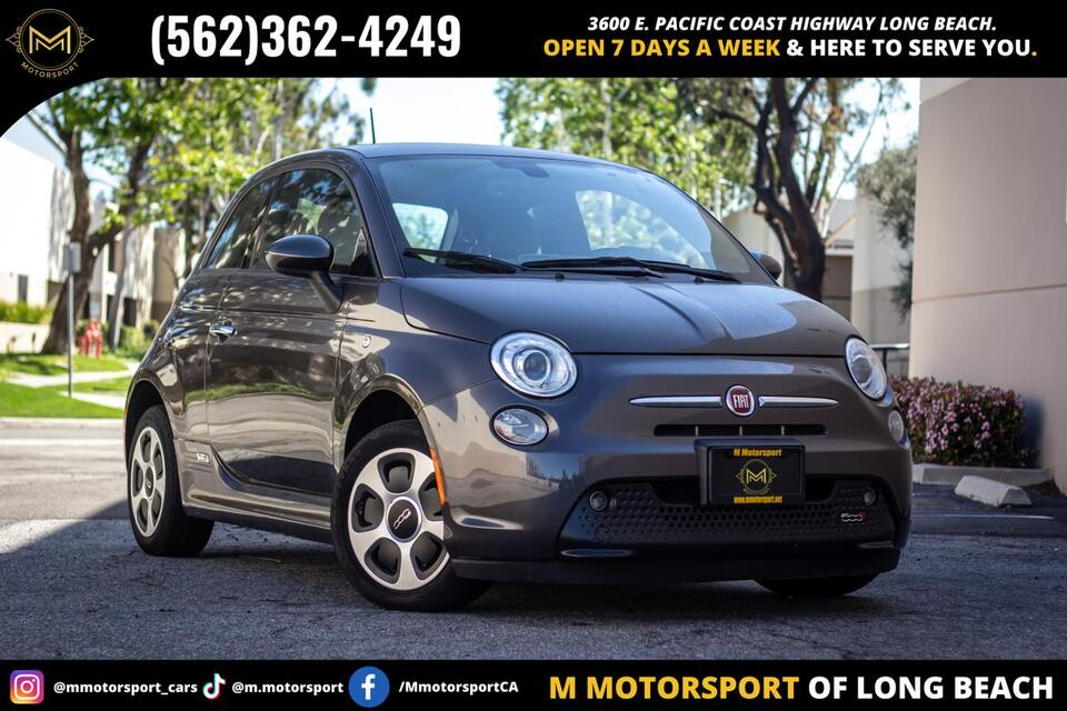 2017_FIAT_500e_Hatchback 2D_ Long Beach CA