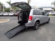 2017_FMI Dodge_Grand Caravan_SXT w/ Manual Bi-Fold Ramp_ Anaheim CA