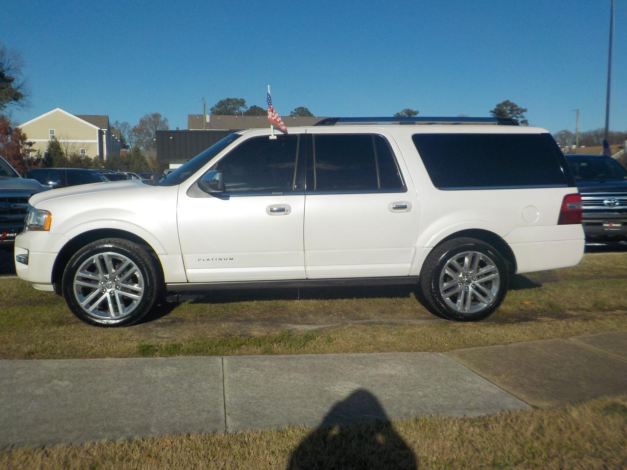 2017 FORD EXPEDITION EL PLATINUM 4X4, ONE OWNER, NAVIGATION, LEATHER, TOW PACKAGE, HEATED & COOLED SEATS, SUNROOF! Virginia Beach VA