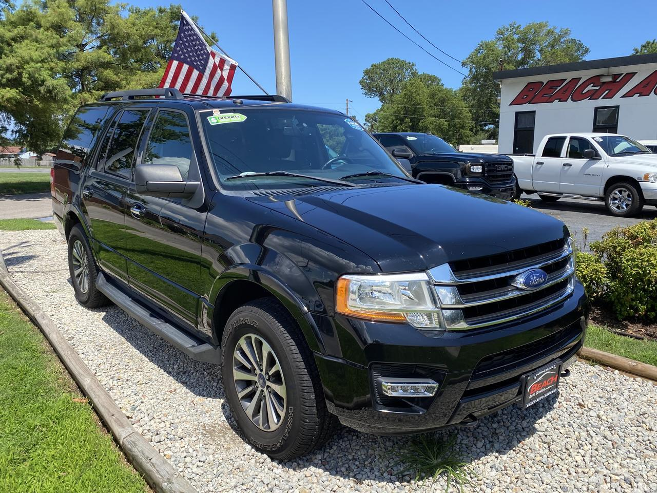 2017 FORD EXPEDITION XLT 4X4, WARRANTY, LEATHER, NAV, HEATED/COOLED SEATS, 3RD ROW, BACKUP CAM, 1 OWNER! Norfolk VA