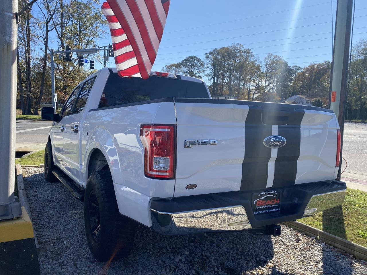2017 FORD F-150 XLT SUPERCREW, WARRANTY, BACKUP CAM, PARKING SENSORS, BLUETOOTH, RUNNING BOARDS, TOW PKG! Norfolk VA