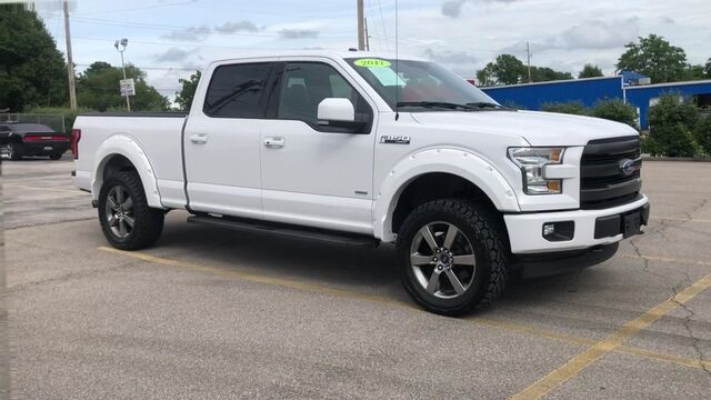 2017 FORD F150 Lariat SuperCrew 6.5-ft. Bed 4WD Frankfort KY