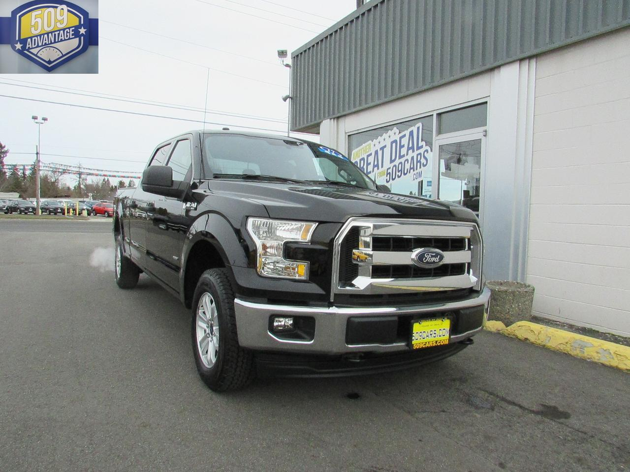 2017 FORD F150 SUPERCREW XLT Spokane Valley WA