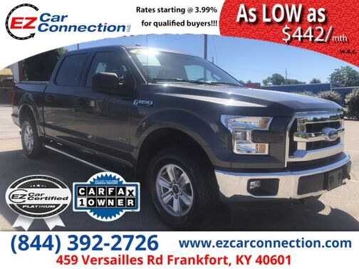 2017_FORD_F150 XLT_XLT SuperCrew 6.5-ft. Bed 4WD_ Frankfort KY