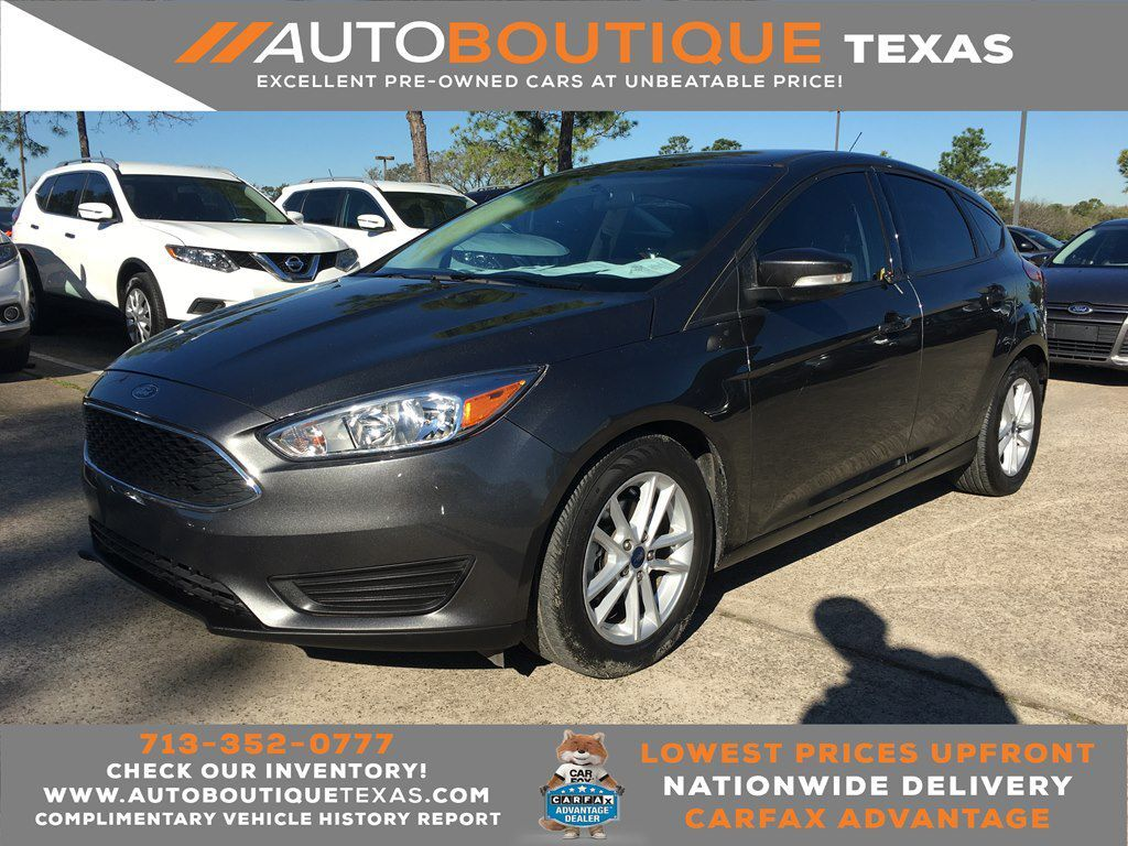 2017 FORD FOCUS SE SE Houston TX