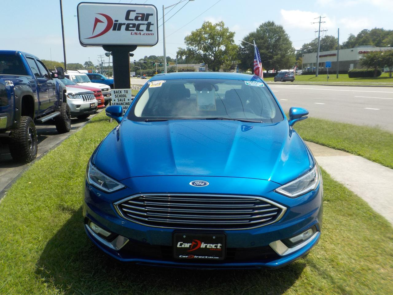 2017 FORD FUSION ENERGI TITANIUM, ONE OWNER, WARRANTY, LEATHER HEATED SEATS, REMOTE START!