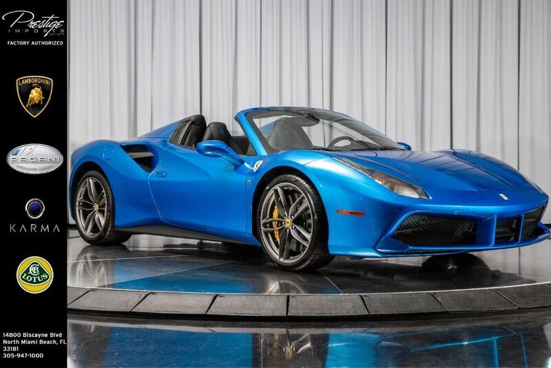 2017_Ferrari_488 Spider__ North Miami Beach FL