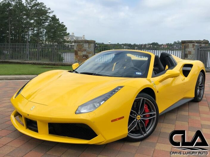 2017 Ferrari 488 Spider  The Woodlands TX