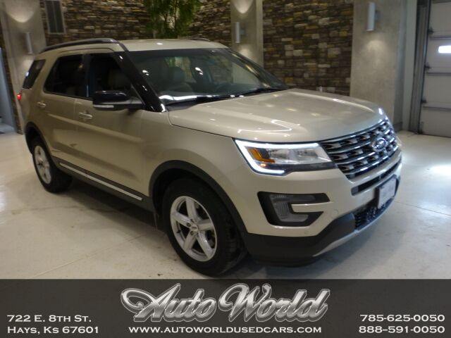 2017 Ford EXPLORER XLT 4X4  Hays KS
