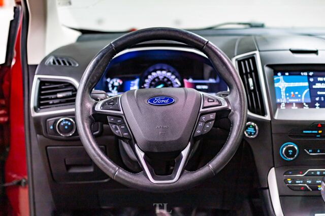 2017 Ford Edge AWD SEL Leather Roof Nav Red Deer AB
