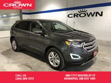 2017_Ford_Edge_SEL AWD / 201A Pkg / Canadian Touring Pkg / Low Kms / Navigation / Leather / Great Condition_ Winnipeg MB