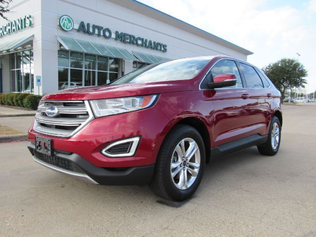 2017 Ford Edge SEL FWD. BACKUP CAM, BLIND SPOT, CROSS TRAFFIC, NAVI, PWR LIFTGATE, HEATED SEATS. Plano TX