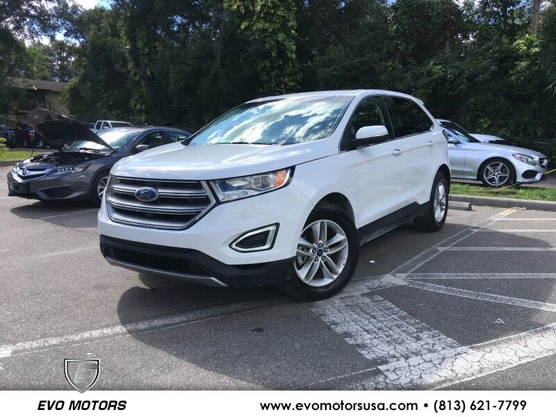 2017 Ford Edge SEL W/ LEATHER Seffner FL