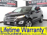 Ford Edge TITANIUM BLIND SPOT ASSIST PANORAMA NAVIGATION HEATED COOLED LEATHER SEATS 2017