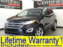 2017_Ford_Edge_TITANIUM ECOBOOST NAVIGATION BLIND SPOT ASSIST PANORAMIC ROOF APPLE CARPLAY_ Carrollton TX