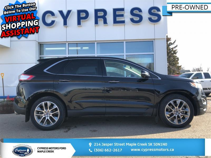 2017 Ford Edge Titanium  - $183 B/W Maple Creek SK