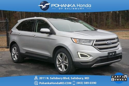 2017_Ford_Edge_Titanium AWD ** NAVI & DUAL SUNROOF ** ONE OWNER **_ Salisbury MD