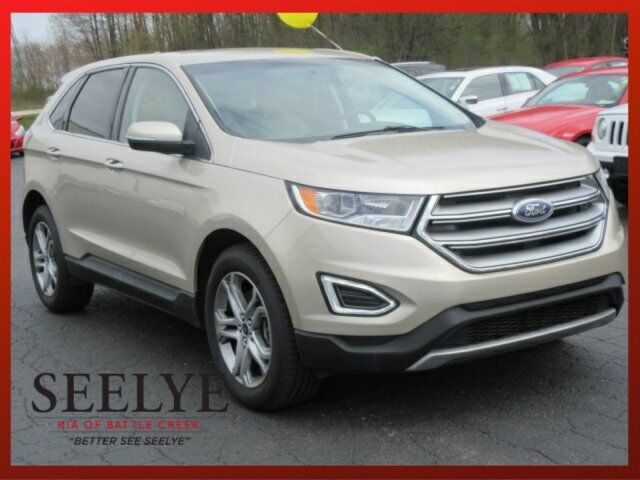 2017 Ford Edge Titanium Battle Creek MI