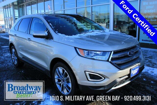 2017 Ford Edge Titanium Green Bay WI