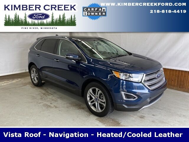 2017 Ford Edge Titanium Pine River MN