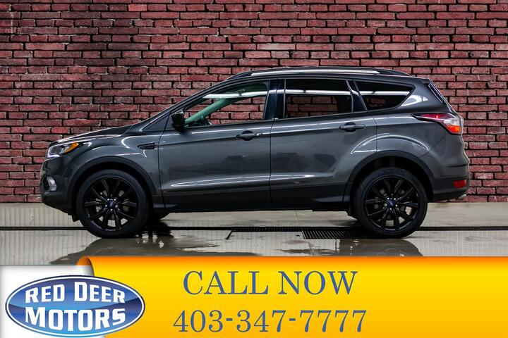 2017 Ford Escape AWD SE Nav Roof BCam Red Deer AB