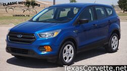 2017_Ford_Escape_S_ Lubbock TX