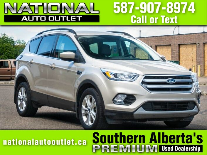 2017 Ford Escape SE- ONE OWNER- CLEAN CAR FAX Lethbridge AB