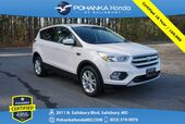 2017 Ford Escape SE 4WD ** Pohanka Certified 10 Year / 100,000  **