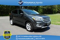 2017 Ford Escape SE AWD ** Pohanka Certified 10 Year / 100,000  **